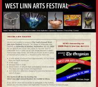 arts festival website
