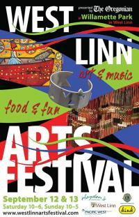 West Linn Arts Festival poster