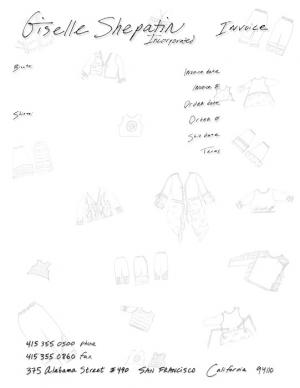 clothing designer form