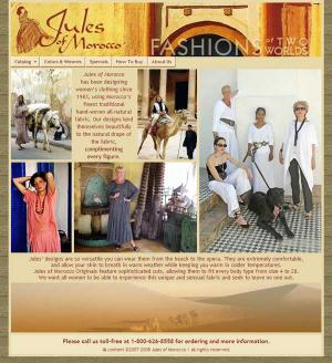 Jules of Morocco boutique site